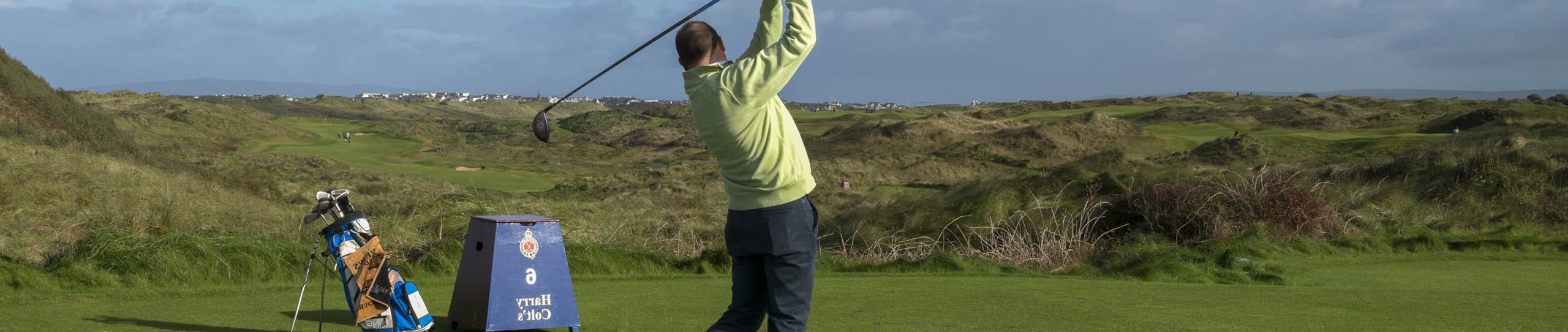 sejour linguistique adulte en irlande avec golf et cours d'anglais