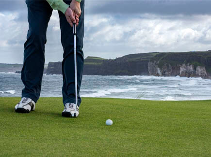 irlande cours anglais golf adultes